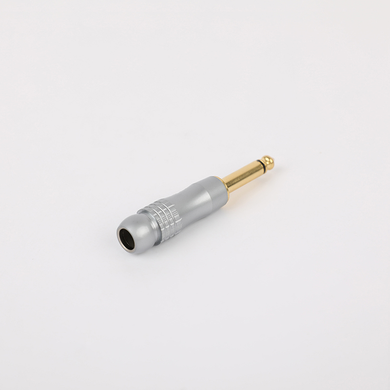 SG-6-01 Silver 6.35mm Audio connector