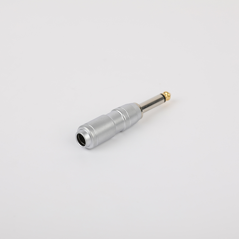 SG-6-04Silver 6.35mm Audio Plug