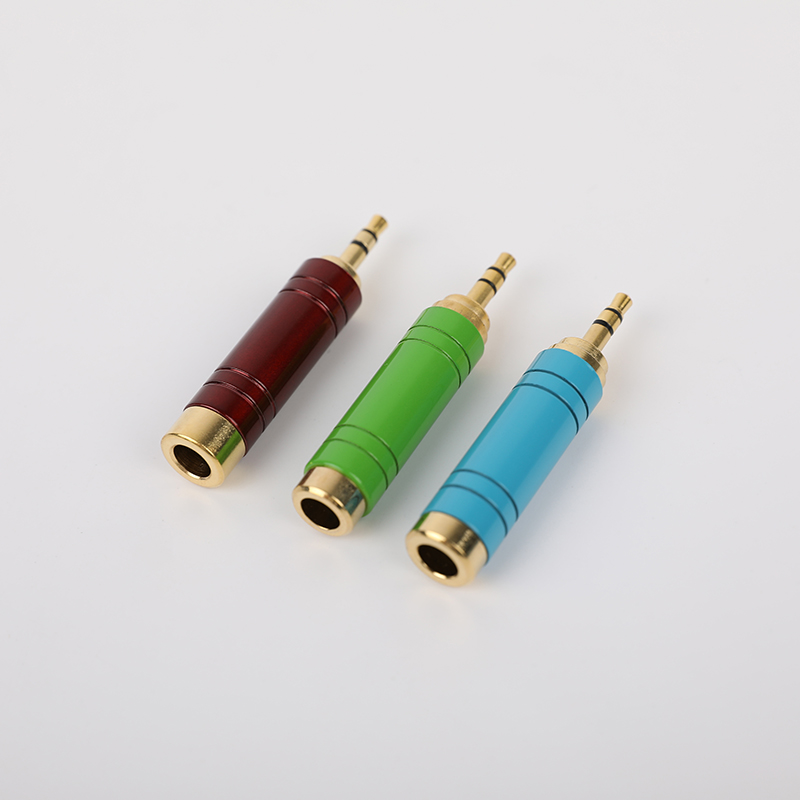 SG-Z-01  6.35mm Male to 3.5mm Female Stereo Adapter (2)